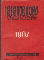 1907 - Antologie de documente literare