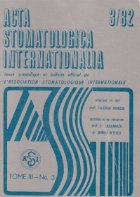 ACTA Stomatologica Internationalia 3/1982