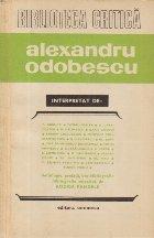 Alexandru Odobescu interpretat