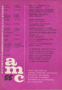 AMC 55 (Automatica. Management. Calculatoare)