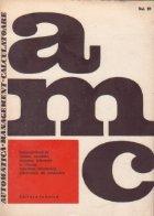 AMC 31 - Volum special Congresul mondial IFAC 1978 Helsinki