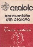 Analele Universitatii din Craiova - Seria Stiinte Medicale, Vol. XIV-1988