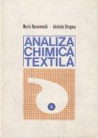 Analiza chimica textila, Volumul al II-lea