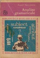 Analize gramaticale Editia