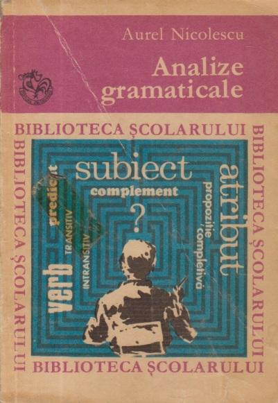 Analize gramaticale, Editia a II-a