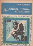 Analize literare si stilistice, Editia a II-a