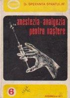 Anestezia - analgezia pentru nastere