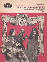 Anii de ucenicie ai lui Wilhelm Meister, Volumul al II-lea