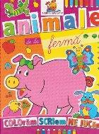 Animale ferma Carte colorat