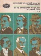 Antologie de proza scurta romanenasca, Volumul al II-lea, De la Constantin Negruzzi la Pavel Dan