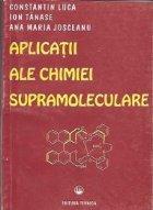 Aplicatii ale chimiei supramoleculare