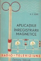 Aplicatiile inregistrarii magnetice (traducere din limba rusa)