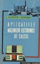 Aplicatiile masinilor electronice calcul