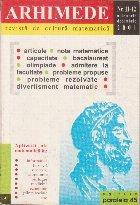 Arhimede - Revista de cultura matematica, Nr. 11-12/2001