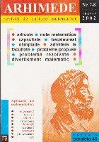 Arhimede - Revista de cultura matematica, Nr. 7-8/2002