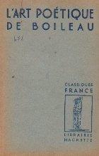 L art poetique de Boileau
