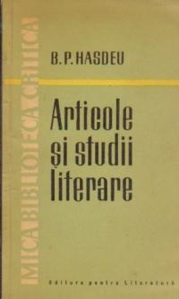 Articole si studii literare