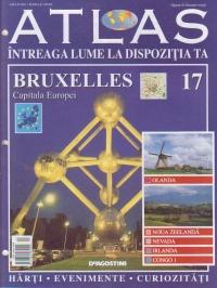 Atlas - Intreaga lume la dispozitia ta, Nr. 17 - Bruxelles capitala Europei