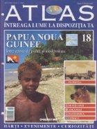 Atlas Intreaga lume dispozitia Papua