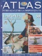 Atlas Intreaga lume dispozitia Laponia