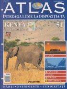 Atlas Intreaga lume dispozitia Kenya