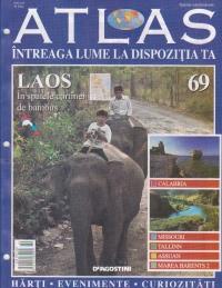 Atlas - Intreaga lume la dispozitia ta, Nr. 69 - Laos in spatele cortinei de bambus