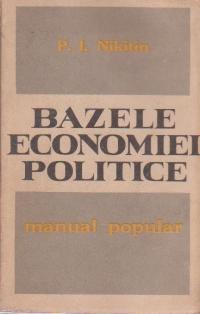 Bazele economiei politice - Manual popular