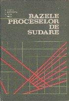 Bazele Proceselor de Sudare