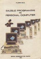 Bazele programarii pe Personal Computer