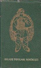 Blade Populare Rominesti, Volumul I (Editii critice de folclor - genuri, 1964)