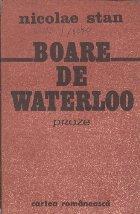 Boare de Waterloo - Proze