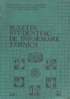 Buletin studentesc informare tehnica 1/1988