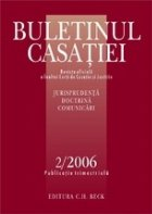 Buletinul Casatiei, Nr. 2/2006
