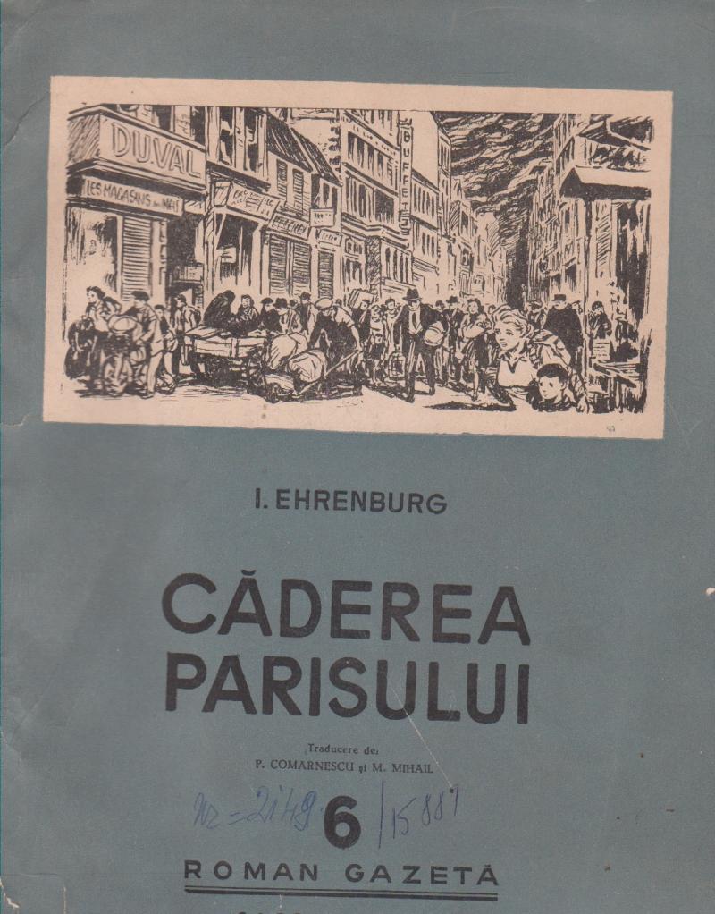 Caderea Parisului - Roman Gazeta