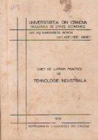 Caiet de lucrari practice de tehnologie industriala