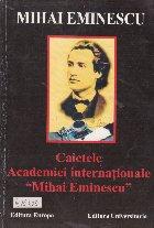 Caietele Academiei internationale Mihai Eminescu - Caietul Nr. 1 (Dirijat de Constantin Barbu)