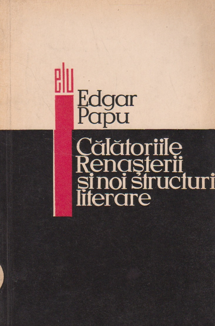 Calatoriile Renasterii si npo structuri literare