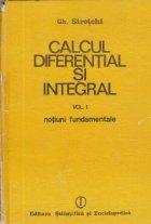Calcul diferential integral Volumul Notiuni