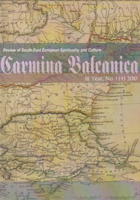 Carmina Balcanica, III Year, No. 1 (4) / 2010