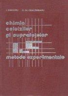 Chimia coloizilor suprafetelor Metode experimentale