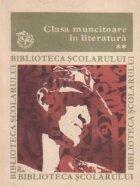 Clasa muncitoare in literatura, Volumul al II-lea