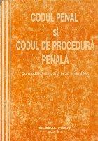 Codul Penal si Codul de Procedura Penala  - Cu modificarile pana la 30 iunie 1998