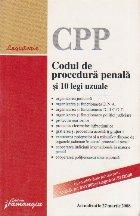 Codul procedura penala legi uzuale