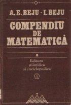 Compendiu de matematica, Volumul I - Algebra si geometrie