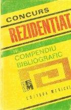 Concurs Rezidentiat, Volumul al II-lea - Compendiu bibliografic