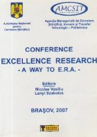 Conference Excellence Research - A Way to E.R.A.