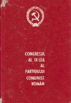 Congresul al IX-lea al Partidului Comunist Roman, 19-24 iulie 1965