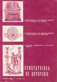 Consfatuirea de Ortopedie, Craiova 16-18 Mai 1991