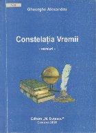 Constelatia Vremii - Versuri (Cu dedicatia autorului)