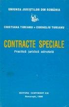 Contracte speciale Practica juridica adnotata